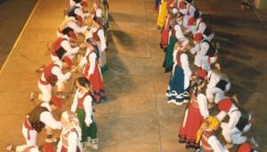 Larrain Dantza: 1995