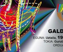 FOLKLORE BIZIAN 2016: GALDAKAO