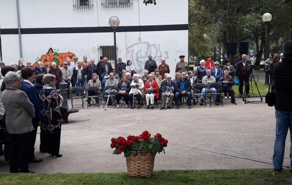 Memoria historikoaren aldeko ekitaldia