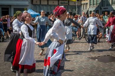 Folkloreweekend Straatoptredens-24