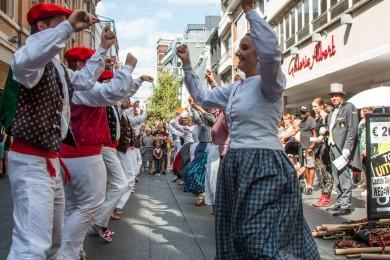 Folkloreweekend Straatoptredens-35
