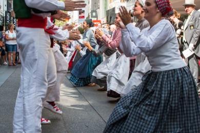 Folkloreweekend Straatoptredens-36