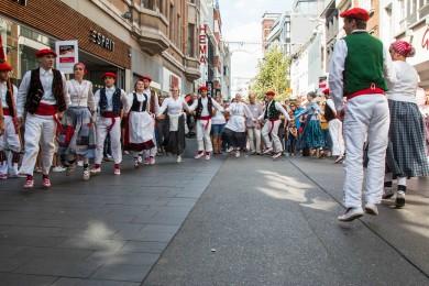 Folkloreweekend Straatoptredens-38