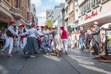Folkloreweekend Straatoptredens-40