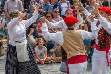 Folkloreweekend Straatoptredens-50