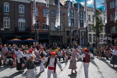 Folkloreweekend Straatoptredens-52