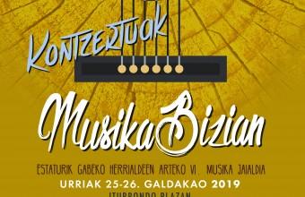 MUSIKA BIZIAN JAIALDIA 2019